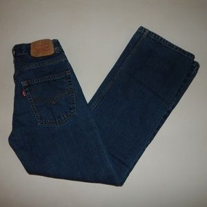Levi's 550 Boys' Size 12 Slim Blue Jeans Pre-owned
